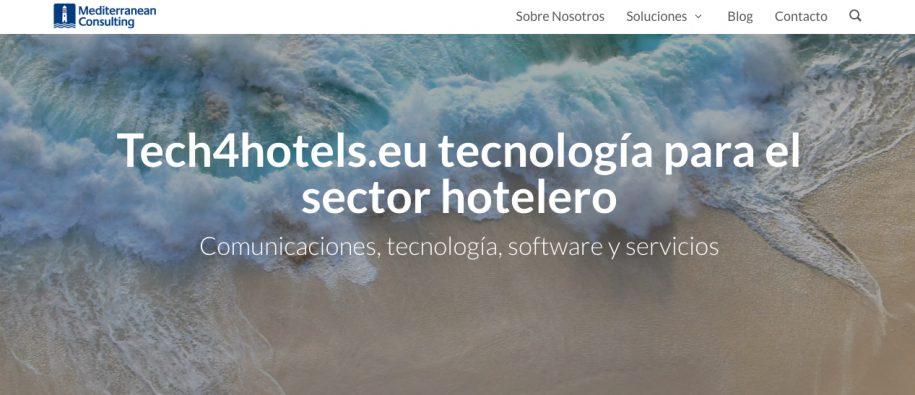 tech4hotels.eu servicios IT& Telecom para el sector hotelero
