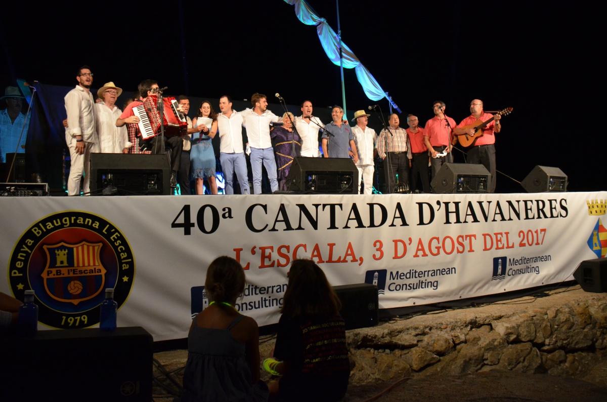 Mediterranean participa en la 40 Cantada d´Havaneres de l´Escala